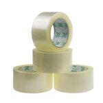 厂家直销宽4.5CM厚2.5CM透明胶带封口警示语胶带透明封箱胶带