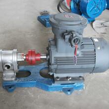 2CY不锈钢齿轮泵材质给您带来不一样的精致产品