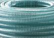 雨泽厂家直销PU钢丝软管伸缩软管木工吸尘软公称外径25~500颜色透明