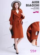 时尚新款呢大衣,一手批发货源,工厂直销图片