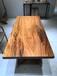 定制实木大板定制老榆木板松木吧台板台面茶餐桌板工作台写字桌面隔板