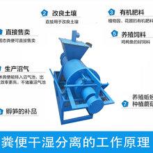 养殖粪便脱水机价格,使用简单的粪便固液分离机报价