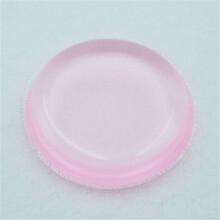 深圳厂家直销Q弹纯硅胶气垫粉扑防水不吃粉透明化妆美白硅胶粉扑