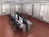 上海电网接警室调度台、领导决策室指挥台