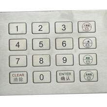 深圳莱奥德不锈钢小键盘背光生产厂家图片