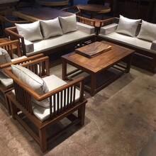 南美胡桃木沙发七件套实木家具进口木材木蜡油工艺天然环保无污染