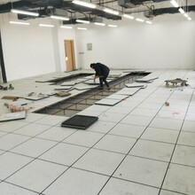西安防靜電地板,全鋼PVC防靜電地板圖片