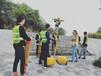 茂名電力施工測量中的選定線測量培訓