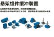 瑞士進口ROSTA鏈條拉緊器懸架組件防震固定件電機底座