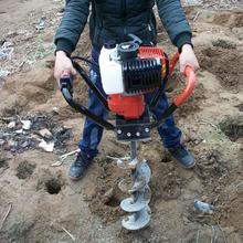 大功率挖坑机拖拉机悬挂式打洞机小型植树机图片