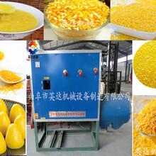 新型玉米碴子机价格小型玉米脱皮制糁机型号供应玉米制糁机厂家图片
