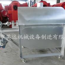 多功能滚筒干货炒货机大型电加热炒货机板栗翻炒机图片