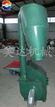 秸秆粉碎机价格大型立式双沙克龙粉碎机铡草机优质耐用图片