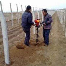手扶便攜式打樁機單人雙人操作挖坑機大馬力植樹挖坑機便攜式植樹機圖片
