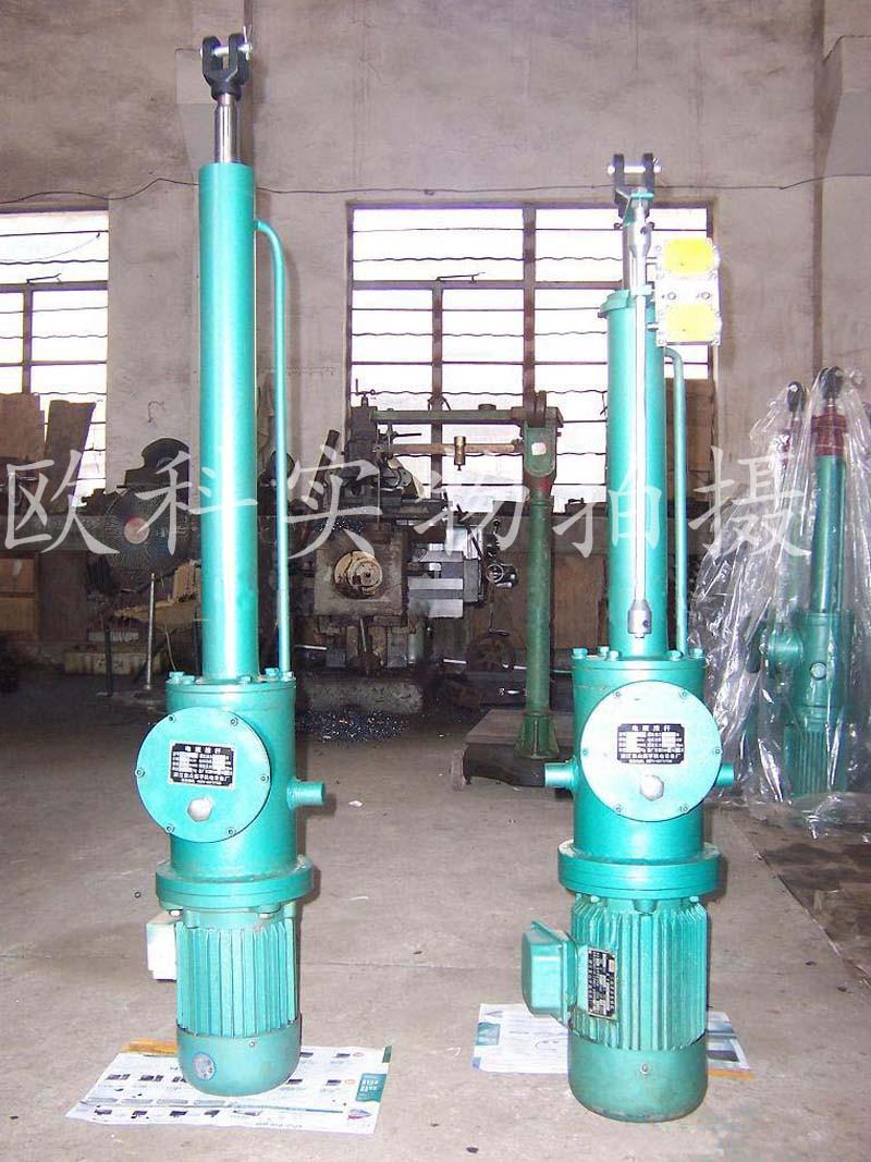 整体直式电液推杆液压推杆平行式电液推杆图片