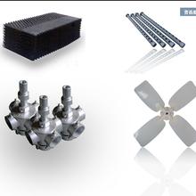 方形冷却塔挂式蜂窝状填料S波折波填料PP/PVC材质