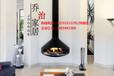 济南别墅里的燃木真火壁炉价格及方案