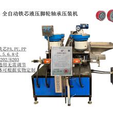 鐵芯、塑心適用輪子全自動軸承壓裝設備機器圖片