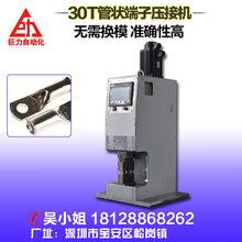 半自动管状伺服端子压接机2.5-120mm非标准化压接型端子压接机图片