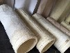 厂家直销中温亚克力针刺毡除尘布袋化工厂专用中温针刺毡除尘滤袋