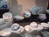 陶瓷茶具套装家用景德镇青花薄胎瓷功夫茶杯茶壶盖碗高档礼品盒装