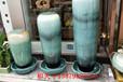 景德鎮陶瓷客廳落地花瓶陶瓷流水噴泉景觀風水擺件手繪鴻