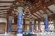 景德鎮廠家直銷可定做陶瓷燈柱典雅高端園林景觀燈柱陶瓷燈柱