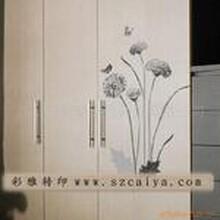水贴纸/灯具贴花/家具贴花