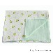 阿克新达纯棉六层纱婴儿浴巾