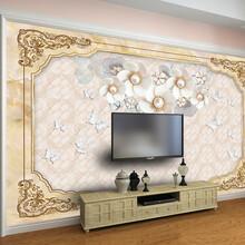 3D打印电视沙发背景墙竹木纤维集成墙板高光来样定