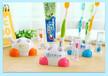 卡通沙漏卫浴牙刷架儿童刷牙计时器定做logo