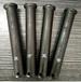 廠家直銷定做機加工平頭帶孔圓柱銷鉸鏈銷軸實心打孔銷