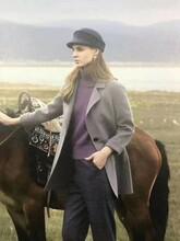 布根香冬装外套连衣裙羽绒服大衣棉衣女装品牌折扣批发
