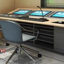演播室专用演播桌,访谈桌,新闻桌,厂家直销图片