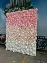 仿真花墙人造植物花墙婚礼装饰背景墙图片
