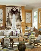 宇路伦森威纺织拉菲尔布艺维多利亚万千锦绣TEXTILE窗帘布艺家纺织窗饰窗纱成品图片