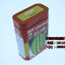 淮南种子铁盒定做,马鞍山种子铁罐厂家,安徽尚唯金属,马口铁盒