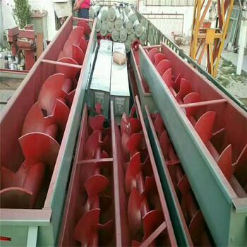 供应水平螺旋输送机无角度螺旋输送机