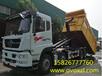 中国重汽30吨勾臂式垃圾车