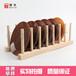 优质原木沥水碗架置物架木质碗架实木杯架创意摆件