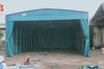 長沙安裝大排擋帳篷臨時倉庫雨棚推拉伸縮棚物流車棚
