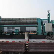 诚信厂家供应W11系列对称式三辊卷板机机械自动卷板机图片
