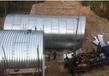石家莊法蘭盤波紋管涵鍍鋅波紋鋼涵管波紋鋼板橋涵廠家