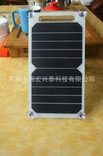 挂牌太阳能板便携式挂牌太阳能电池板广告挂牌充电板