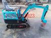 种植业专用小型挖掘机橡胶履带小型挖掘机小型液压挖掘机