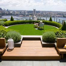 成都园林设计哪家好屋顶花园设计