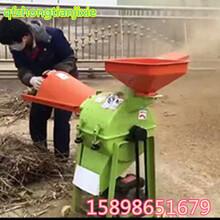 玉米秸秆粉碎机沙克龙自动除尘粉碎机饲料粉碎机大型粉碎设备图片