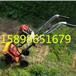 背负式汽油割草割灌机河北农田杂草去除机手扶自走式割草机现货园林汽油割草机