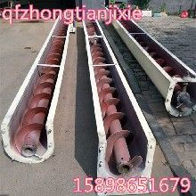 管状螺旋输送机自吸式河沙提升机倾斜式污泥输送设备6米螺旋上料机图片