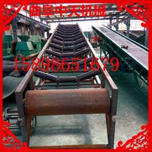 工业爬坡线加厚防滑式本溪皮带输送机图片图片